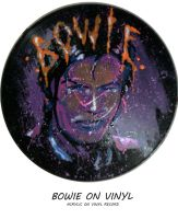 BOWIE ON VINYL by montalvo-mike