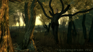 The Slender Man by angelenesdreams