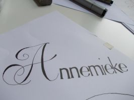 My name by A-mieke