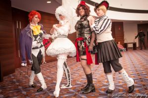Cosplay: Circus Group by SailorAnime