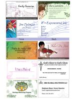 Bunch 'o Business Cards by OtakuEC