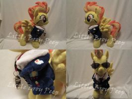 MLP Plushie Spitfire (commission) by Little-Broy-Peep