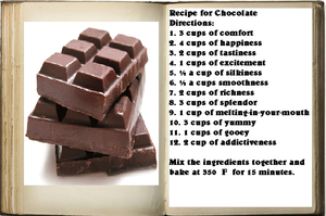 Chocolate Recipe by Greensister125