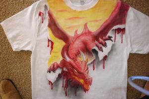 airbrushed dragon RIPPED by NeoGzus