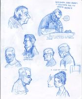 Some People sketches by cephalopode