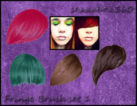 Fringe,Bangs Brush Set 1 by sexxxbox360