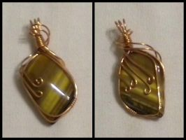 Golden Tiger's Eye by Zorias