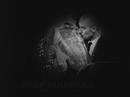 Guardiola by w6n3oshaq