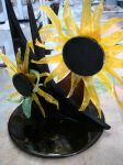Sunflower Sculpture by EzmasFortune