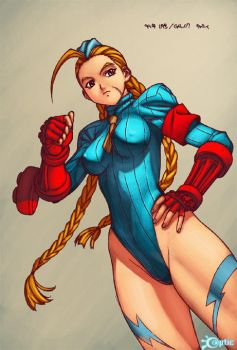 Street Fighter - Cammy by -seed-