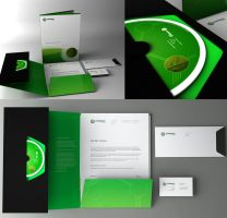 corporate identity by etrix