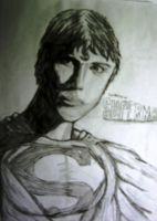 Tom Welling as Superman by spiderson5000