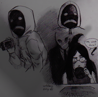 Hooded man Sketches by Cageyshick05