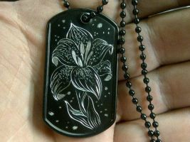 dog tag by blksun