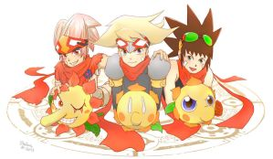 Boktai -Solar Boys - by SolarGirlMina