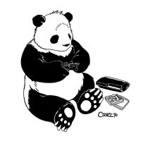 Su Mo the Panda Plays PS3 by Sumo0172