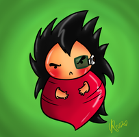 Raditz the Radish by Budgies