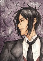 Sebastian Michaelis by Fyre-Dragon