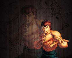 Fei Long Street Fighter Wallpaper by 1kamz