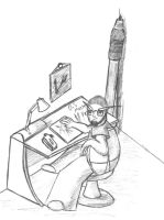 Mecha Pencil - The ROOM by Infernal-Mercy