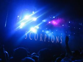 Scorpions by sun-and-sands