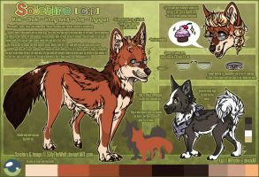 .: Soichiro Official Sheet Ref 2015 :. by SillyTheWolf