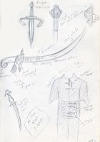 TP: Weapons Study by yellowis4happy