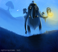 Daily 9 - Troll Patrol by Cryptid-Creations