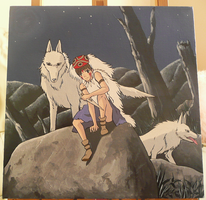 Princess Mononoke Commission by Luciana27