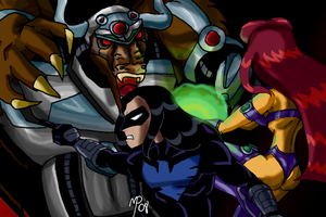 Teen Titans - Follow My Lead F by UltimeciaFFB