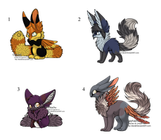 Mixed Adopts - Adopted by Feralx1