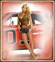Jessica Simpson as Daisy Duke by drknyght6