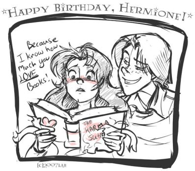 Happy B-day Hermione 07- HP by lberghol