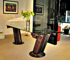 Conference Table by ou8nrtist2