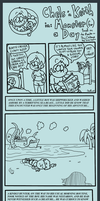 Kickline: Monster for a Day: Page 1 by AgentC-24