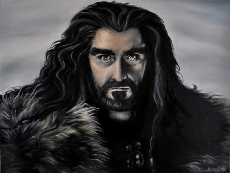Thorin Oakenshield by huntaa91