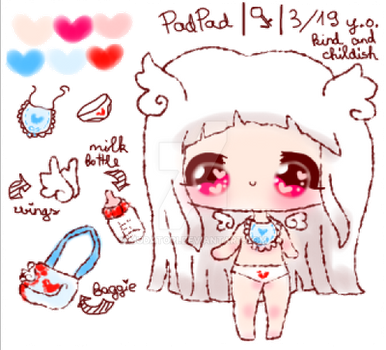 PadPad ref sheet by Menses-chan