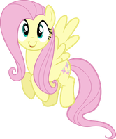 Happy Fluttershy by M99moron