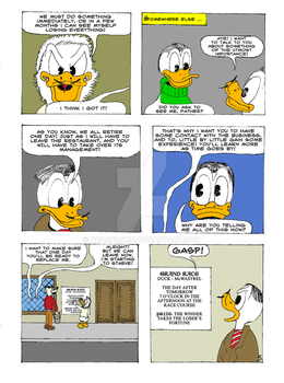 The Life and Times of Tzatzikis Duck (5th page) by Quackmore