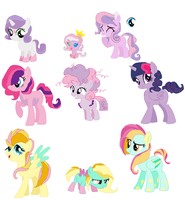 Family Adopts Batch 13 Closed by Yoshi123pegasister