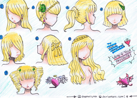 Doodling Hair Styles- Vote for your favorite by Crystalia68