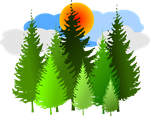 Forest-Clipart-6 by PukingRainbow
