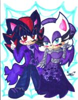 Halloween Ball: Shadouge by Lilymint7