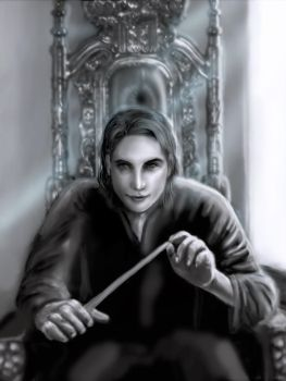 Harry Potter- Tom Riddle, A lord on his throne by Kefalion