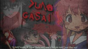 Yuno Gasai Bloody Wallpaper by For3st-NinJa