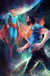 Superman and Superman by Haining-art
