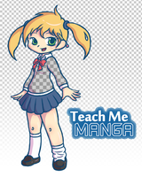 Teach Me Manga Mascot by hpuff