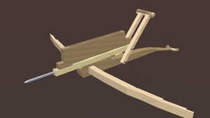 Chinese Repeating Crossbow by callumreality