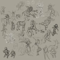 Sketchdump From Work Pt 3 by SuperStinkWarrior