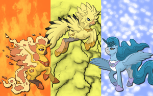 Legendary Bird Ponikemon WP by AliceHumanSacrifice0